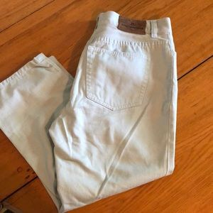 Ralph Lauren light blue capris size 4